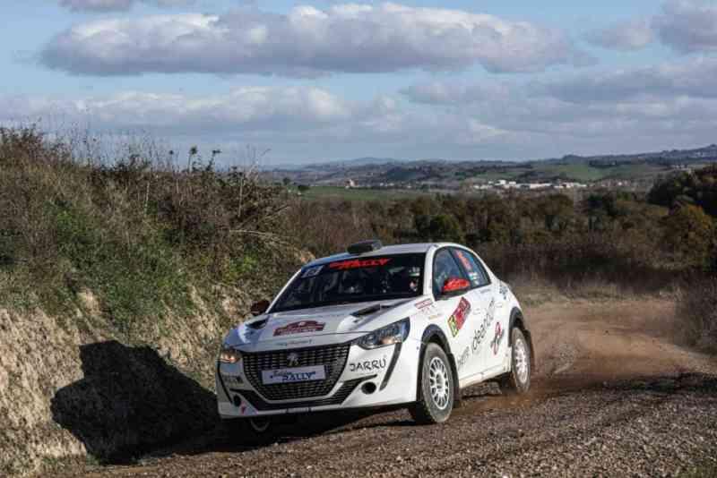 Ottimo debutto di Baruffa-Brachi con la Peugeot 208 Rally4 ...