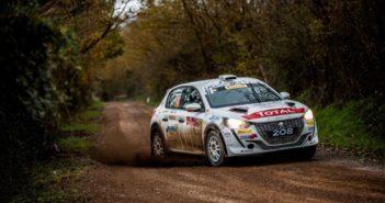 Paolo Andreucci su Peugeot 208 vince il Campionato Italiano Rally 2 Ruote Motrici 2020