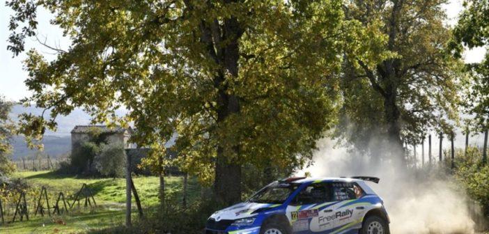 Bulacia e Der Ohannesian (Skoda Fabia R5) vincono il Campionato Italiano Rally Terra 2020